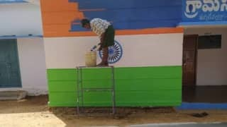 'Shocking': Chandrababu Naidu Slams Jagan Govt for Replacing Tricolour With YSRCP Flags in Andhra Village