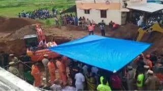 Setback As Toddler Who Fell in Tamil Nadu Borewell Slips Further Down, Rescue Operations Continue