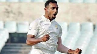 Abhimanyu Mithun Becomes First Bowler to Pick up Hat-Trick in Vijay Hazare Trophy Final
