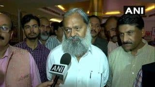 'No Question of Including Kanda in Haryana Govt', Says BJP's Anil Vij