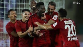 Indian Super League 2019-20: Asamoah Gyan Scores Winner as NorthEast United FC Beat Odisha FC to Earn First Points