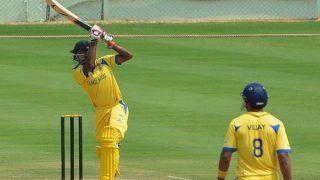 Vijay Hazare Trophy 2019-20: Abhinav Mukund, Baba Aparajith Help Tamil Nadu Thrash Tripura