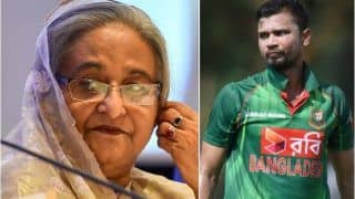 Bangladesh Prime Minister Sheikh Hasina Requests ODI Skipper Mashrafe Mortaza to Mediate Between Cricketers And Board