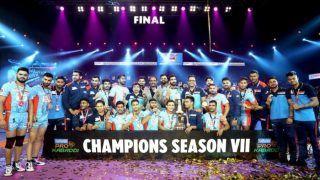 VIVO Pro Kabaddi Season 7 : दबंग दिल्ली को हराकर बंगाल वॉरियर्स ने पहली बार जीता खिताब