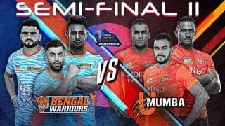 Bengal Warriors vs U Mumba Pro Kabaddi League 2019: Kabaddi Live Streaming in India Where And When To Watch BEN vs MUM TV Broadcast, Online in IST, Starting 7s, Squads, Match Preview