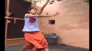 सोशल मीडिया पर धमाल मचा रहा है इस लड़की का बॉलिंग स्टाइल, भज्जी और बुमराह का है मिक्स, देखें VIRAL VIDEO