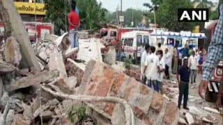 Gujarat: Two Rescued, Several Labourers Feared Trapped in Building Collapse in Vadodara