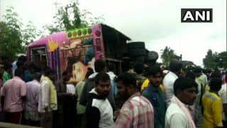 Karnataka: Five Dead, 15 Injured as Bus Overturns Near Koratagere in Tumkur