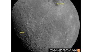 Chandrayaan-2 के ऑर्बिटर ने भेजी चांंद की शानदार फोटो, देखें