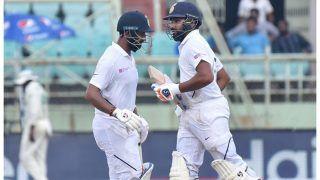 IND v SA : रोहित का शतक, दक्षिण अफ्रीका के सामने 395 रन का लक्ष्य