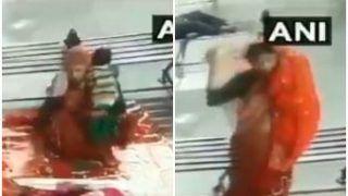 VIDEO: उत्तर प्रदेश के मुरादाबाद में बस स्टैंड से बच्चा चोरी, सीसीटीवी में कैद हुई वारदात