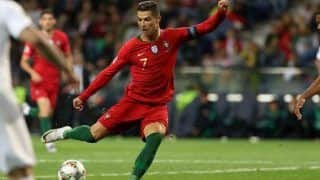 Cristiano Ronaldo's Breathtaking Chip Goal During Euro 2020 Qualifiers as Portugal Beat Luxembourg is Unmissable | WATCH VIDEO