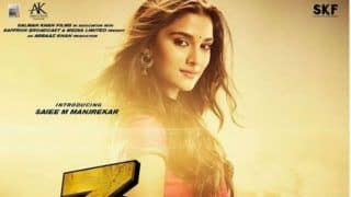 Ahead of Dabangg 3 Trailer Launch, Salman Khan Introduces Saiee Manjrekar as