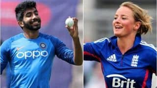 English Cricketer Wyatt Posts Quirky Comment on Bumrah's Latest 'Gym Selfie'