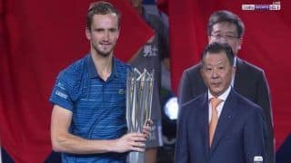 Shanghai Masters 2019: Daniil Medvedev Demolishes Alexander Zverev in Straight Sets to Lift Second Consecutive Masters Trophy