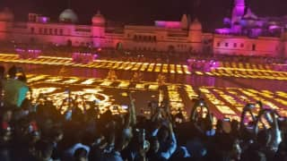 Ayodhya 'Deepotsav' Enters Guinness World Records For Illuminating 5.51 Lakh Earthen Lamps