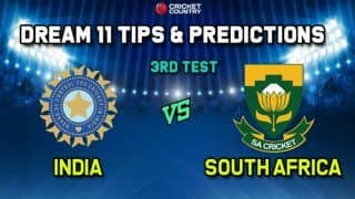 India vs South Africa Dream11 Team Prediction: Captain and Vice Captain For Today 3rd Test Between IND vs SA Fantasy Tips And Best Picks at JSCA International Stadium Complex, Ranchi 9.30 AM IST