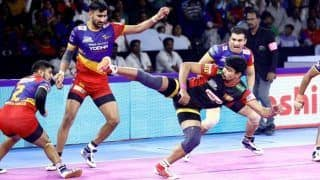 Dream11 Team BLR vs UP Pro Kabaddi League 2019 – Kabaddi Prediction Tips For Today's PKL Eliminator 1 Bengaluru Bulls vs UP Yoddha at EKA Arena by TransStadia, Ahmedabad