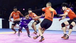 Dream11 Team MUM vs HAR Pro Kabaddi League 2019 – Kabaddi Prediction Tips For Today's PKL Eliminator 2 U Mumba vs Haryana Steelers at EKA Arena by TransStadia, Ahmedabad