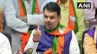 No Plan B in Maharashtra: Will be CM For 5 Years, Sena Was Never Promised CM's Chair For 2.5 Years, Says Devendra Fadnavis