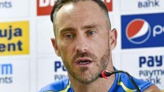 Defeat Against India Has Affected us Mentally: Faf du Plessis