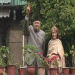 62 Days on, Farooq Abdullah Makes First Public Appearence, Meets NC Delegation at Residence
