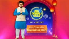 Flipkart Big Diwali Sale : दिवाली से पहले 21 अक्टूबर से शुरू होगी फ्लिपकार्ट पर एक और सेल