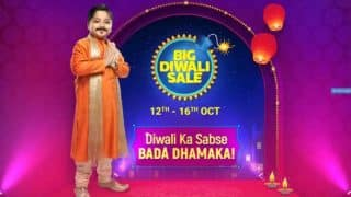 Flipkart ने Big Diwali Sale का एलान किया, 12 से 16 अक्टूबर तक चलेगी सेल