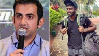 Gautam Gambhir Happy About Sanju Samson's Inclusion in India T20I Squad vs Bangladesh, Says It Was Long Overdue