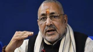 BJP's Giriraj Singh Slams Rahul Gandhi & Owaisi, Says 'They Want to Divide Nation, They Want a Civil War in India'