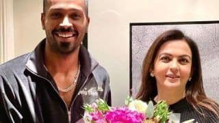 Mumbai Indians Owner Nita Ambani Pays Surprise Visit to Hardik Pandya in The UK