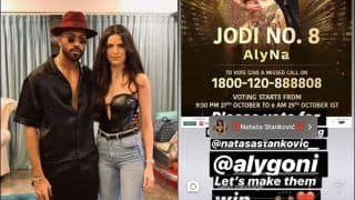 Hardik Pandya Makes Vote Appeal For Natasa Stankovic on Nach Baliye | SEE POST