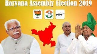 Haryana Assembly Election Results 2019: Winners List on Hathin, Hisar, Hodal, Tosham, Indri, Israna Seats