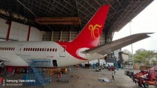 Air India Paints 'Ek Onkar' on Boeing 787 Dreamliner to Mark 550th Birth Anniversary of Shri Guru Nanak Dev
