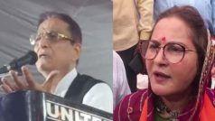 आजम खान की हालत पर जया प्रदा का तंज, यह एक महिला के आंसुओं का श्राप है