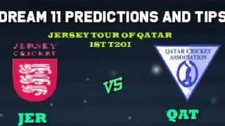 JER vs QAT Dream11 Team Jersey vs Qatar, 3rd T20I, Jersey tour of Qatar 2019 – Cricket Prediction Tips For Today's Match JER vs QAT at Doha