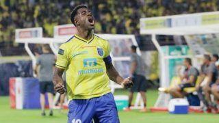 Indian Super League: Bartholomew Ogbeche Brace Helps Kerala Blasters Beat ATK 2-1 in Season Opener