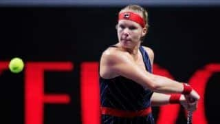 Kiki Bertens Stuns World No. 1 Ashleigh Barty in WTA Finals