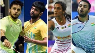 Denmark Open Badminton 2019 Day 1 HIGHLIGHTS: B Sai Praneeth, PV Sindhu Advance to 2nd Round; Parupalli Kashyap Out