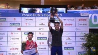 Lakshya Sen Bags Dutch Open, Clinches Maiden BWF World Tour Title