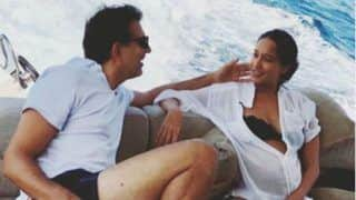 Pregnant Lisa Haydon Shares Adorable Picture With Hubby Dino Lalvani as They Take Jet Boat Ride in Phuket