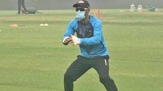 BCCI की हुई किरकिरी, प्रदूषण के बीच मास्क लगाकर बांग्लादेशी खिलाड़ियों ने की प्रैक्टिस