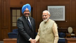 PM Modi Meets Former Air Chief Marshal BS Dhanoa, Remembers His Contribution to Air Force