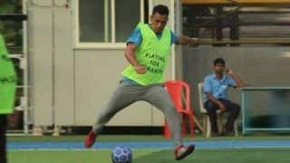 MS Dhoni Plays Football With Bollywood Star Arjun Kapoor During Sabbatical From Cricket | WATCH VIDEO