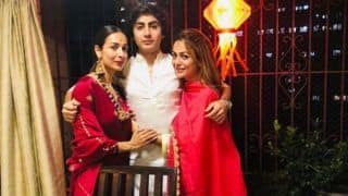Malaika Arora Celebrates Diwali With Son Arhaan Khan, Sanjay Kapoor is All Hearts
