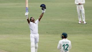 IND vs SA: मयंक अग्रवाल ने जड़ा लगातार दूसरा शतक, भारत ने पहले दिन बनाए 273/3