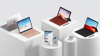 Microsoft Surface Laptop 3 series, Surface Pro 7, and Surface Earbuds launched