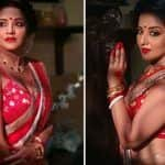 Bhojpuri Hot Bomb Monalisa Flaunts Her Sexy Bengali Boudi Avatar as She Wishes Fans 'Shubho Saptami' This Durga Puja
