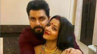Bhojpri Hot Actor Monalisa Shares Lovey-dovey Pictures With Hubby Vikrant Singh Rajpoot as She Wishes Fans 'Happy Karva Chauth'
