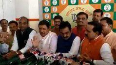 VIDEO: कांग्रेस का साथ देने वाले BJP MLA ने कहा- मैं भाजपा में था, भाजपा में हूं और भाजपा में ही रहूंगा